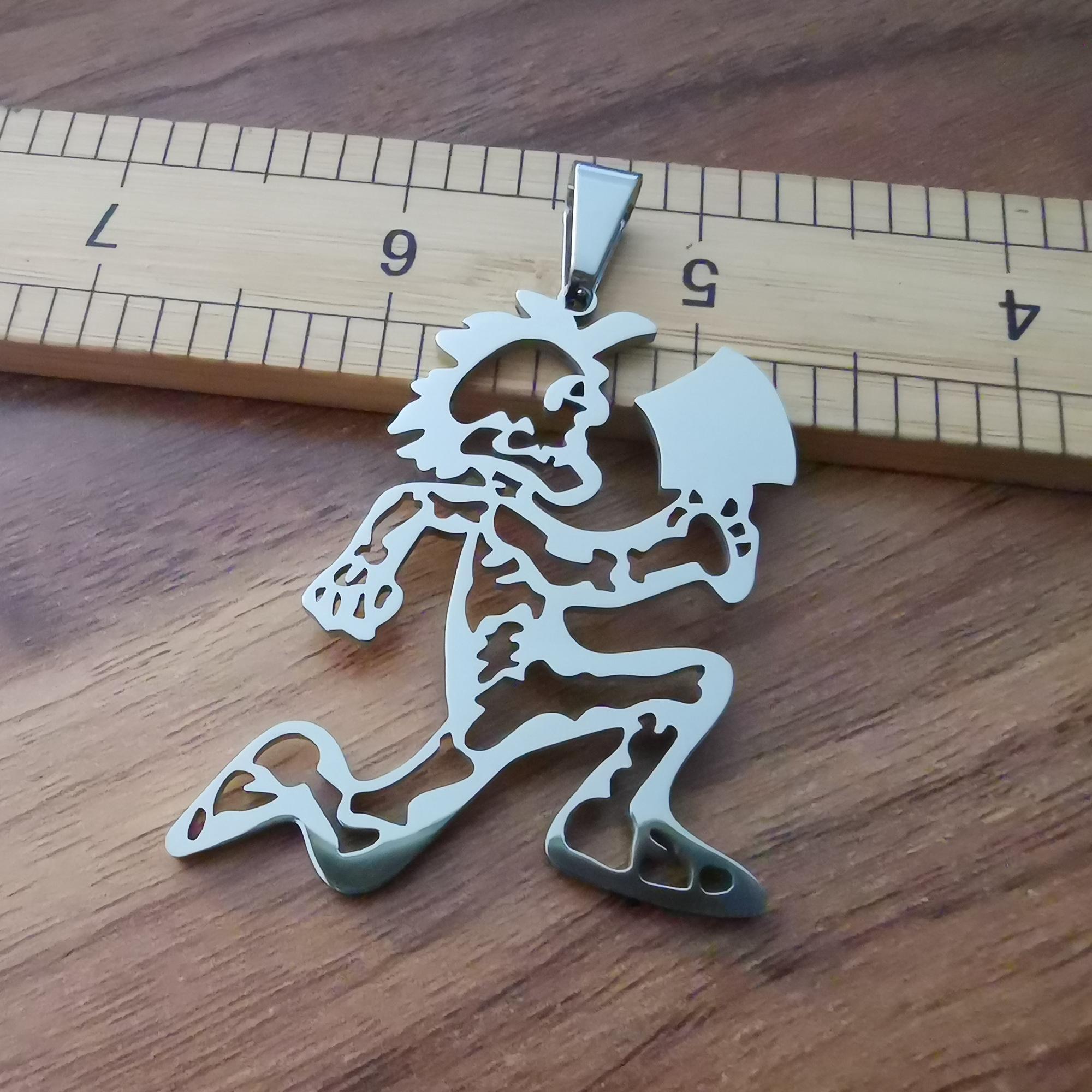 Insane Clown Posse TWIZTID hatchetman fascino scheletro JUGGALO ICP in acciaio inox nuove catene collana 6 stile che potete scegliere