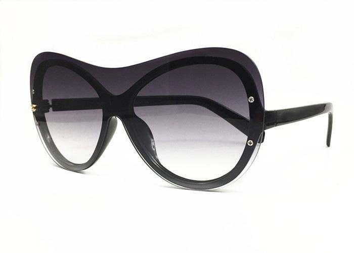 cornice d'oro degli occhiali da sole degli uomini di moda glasse corno di bufalo Des Lunettes de Soleil Occhiali da sole para mujer HT-3043