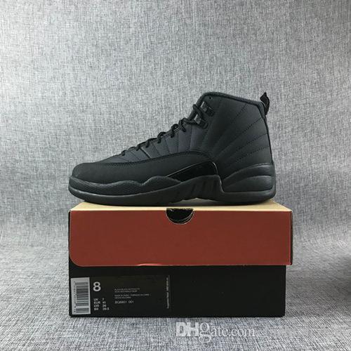 2019 12 s Winterized kutusu ile erkekler basketbol ayakkabı en kaliteli 12 s sneaker trainer ücretsiz kargo toptan