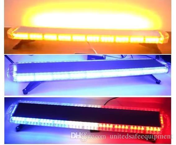 Бесплатная доставка 1200 мм / 47 дюймов Высокий яркий аварийный автомобиль предупреждающий световой панель автомобиль автомобиль вспышка стробоскопки янтарный светильник для эвакуатора