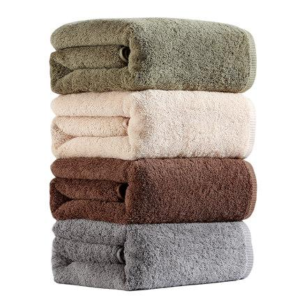 Cotton Adult Bath Towel Female Couple Thick Cotton Soft Towel Absorbent Fast Drying Antibacterial Bath JJ50MJ