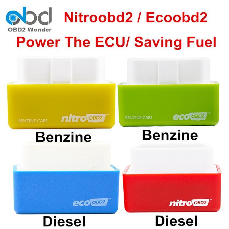 Plug /& Drive Eco OBD2 Plug /& Drive Nitro OBD2 Chip Tuning Box f/ür Benzin Benzin Benzin PKW Motorleistung