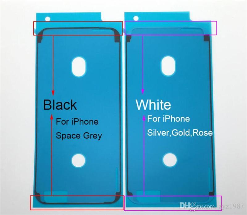 Orijinal Su Geçirmez Sticker Yapıştırıcı Tutkal Bant Apple iphone 6 S 6 s Artı 7 7 Artı 8 Artı X LCD Ekran Ön Çerçeve