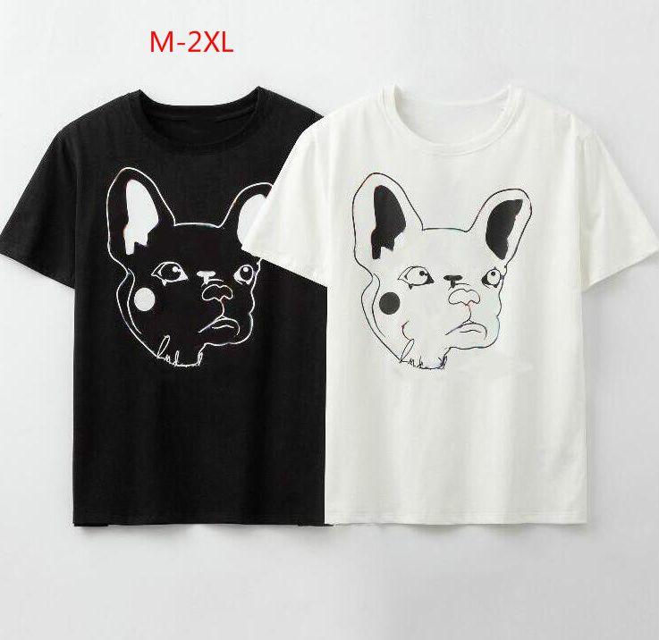 2020 D'été Designer T Chemises Pour Hommes T-Shirt avec Animal lettres Marque T-shirt Hommes Femmes Couple Haute Qualité T-shirt ZWN203163