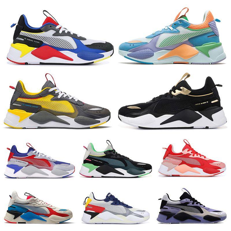 2020 Puma rs x rs-x reinvention Spielzeug Transformatoren Männer Frauen Schuhe Fuchsia BLUE ATOLL Trainer Männer sports Turnschuhe 36-45 laufen