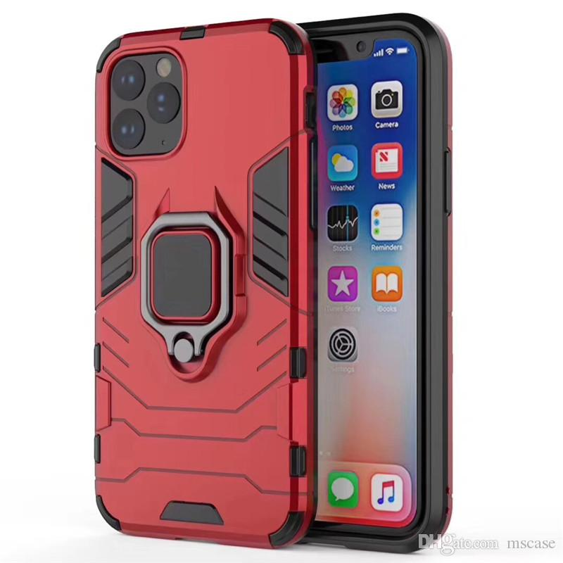 Panther Armor TPU Híbrido PC Anel Stand Case Com Magnética Para VIVO Y66 Y66 Y67 Y8 Y9 Y9 Y9 Y8 Y8 Y8 Y8 Y8
