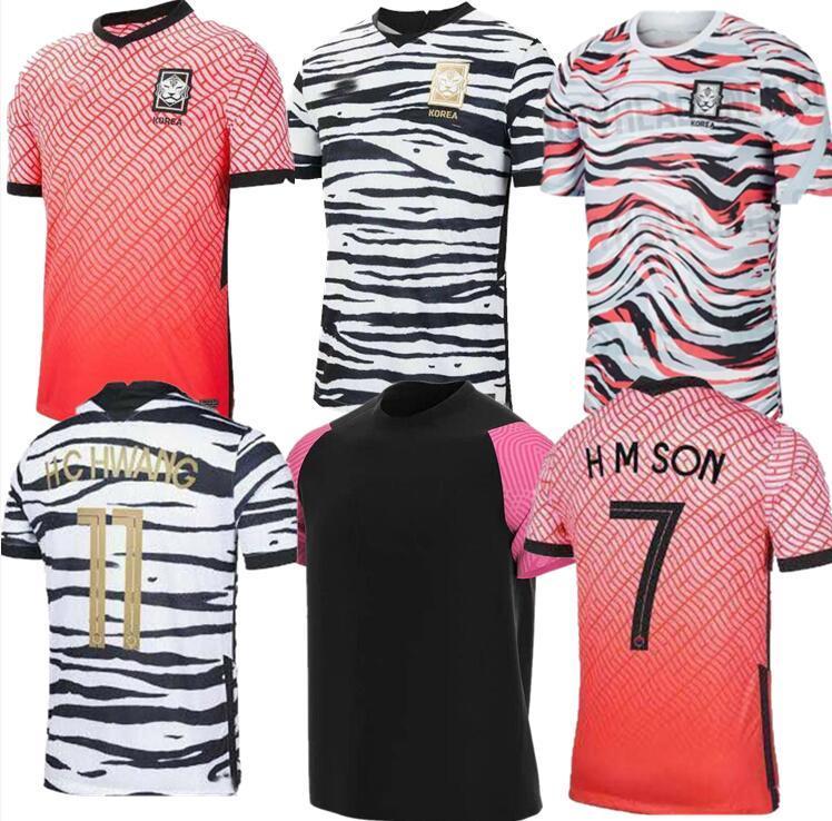 2020 Güney uzakta futbol Formalar KORE 2021 SON 7 SON HUN KWON LEE KIM HO SON Hyung KIM ev 20 21 JERSEY FUTBOL shirt Tayland kalite