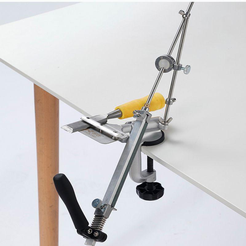 Ruixin про третий вариант Mini Измельчение машина работа острый нож система точилка заточка Фиксированный угол T200111