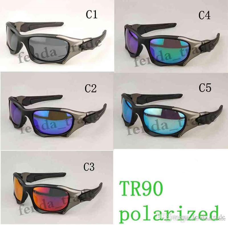 TR90 frame 2018 New Excellent hot men sunglasses top quality Polarized lens Outdoor Sports cycling eyewear men women sunglasses