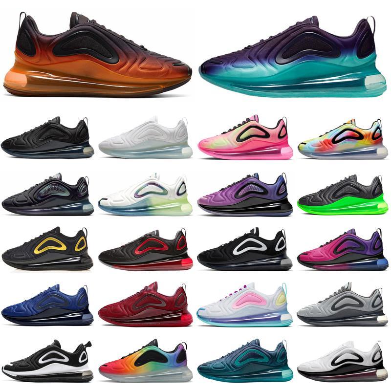 nike air max airmax 720 720s 2020 hombres mujeres zapatos para correr triple negro blanco naranja al aire libre hombres mujeres entrenadores zapatillas deportivas corredores