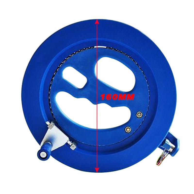 Высокое качество 16 см Кайт катушки ABS пластик синий 200 м Кайт катушки сцепление моталки летающие инструменты намотки машины змеи аксессуары