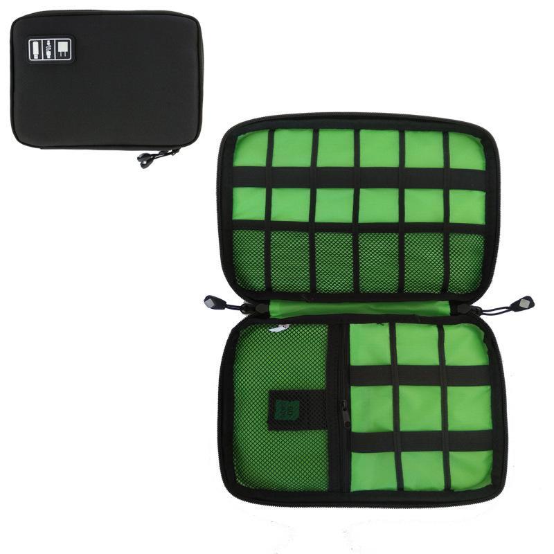 Сумка-органайзер на открытом воздухе для путешествий Сумки для электронных аксессуаров Жесткий диск Наушники USB Flash Drive Сумки для хранения 16цвет GGA2665