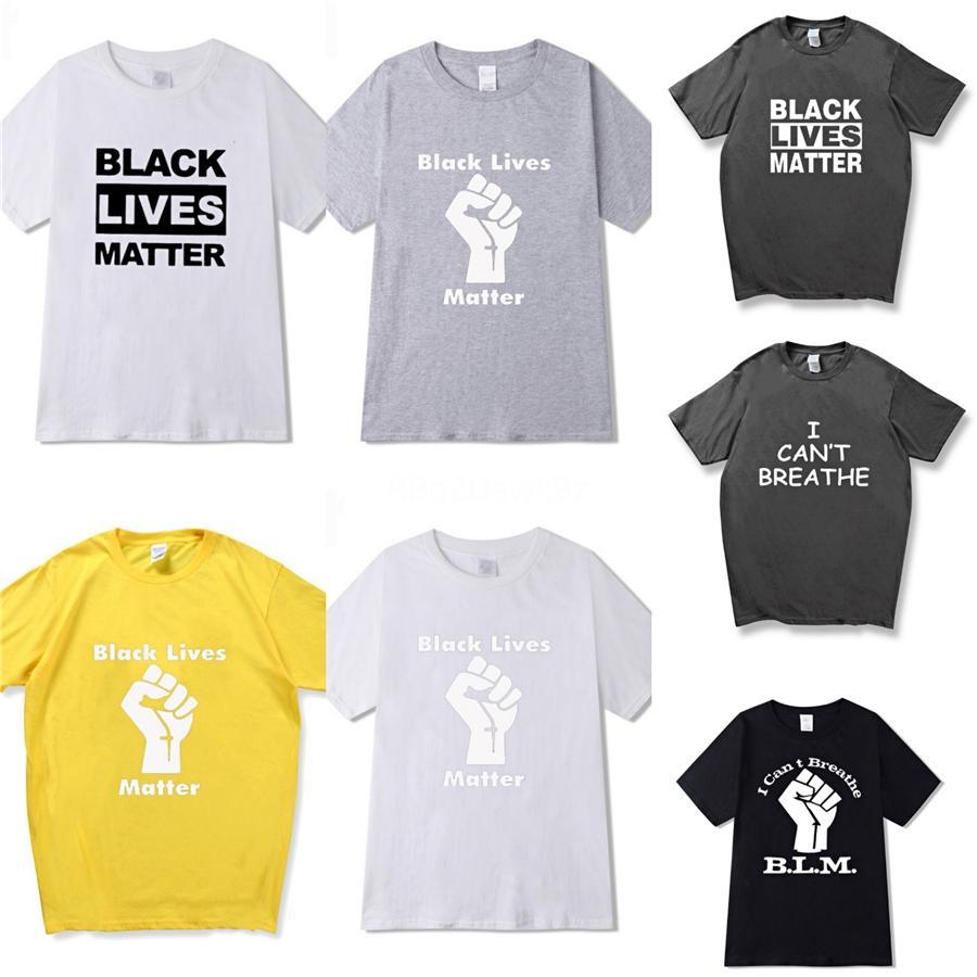 Eu não posso respirar! Homens T Shirt Mens Designer camisetas Mens Vestuário Verão Casual camisas para homens Desgaste da rua Tripulação Crânio do pescoço manga curta Plu # 74