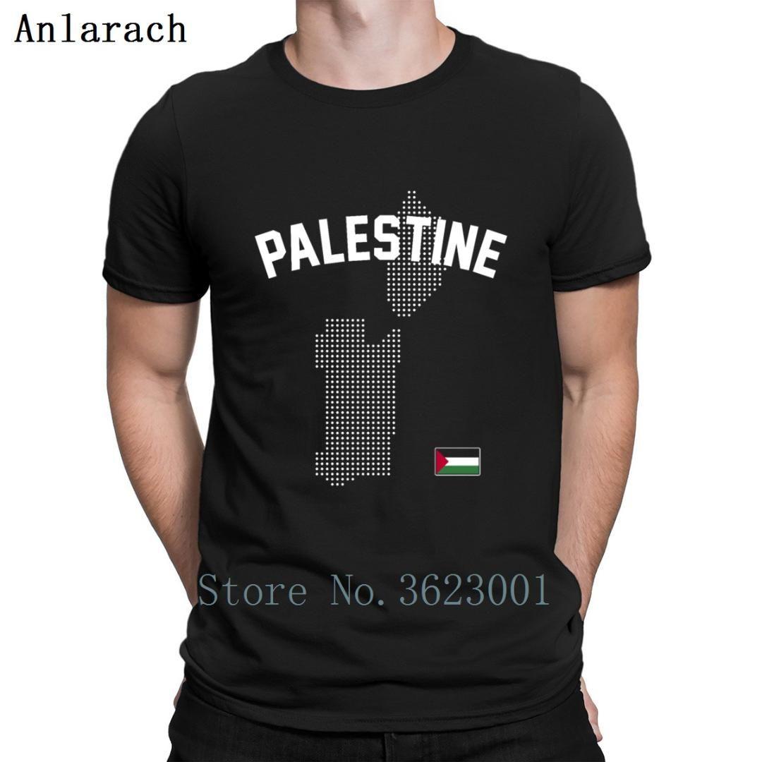 Palestine Map T-Shirt