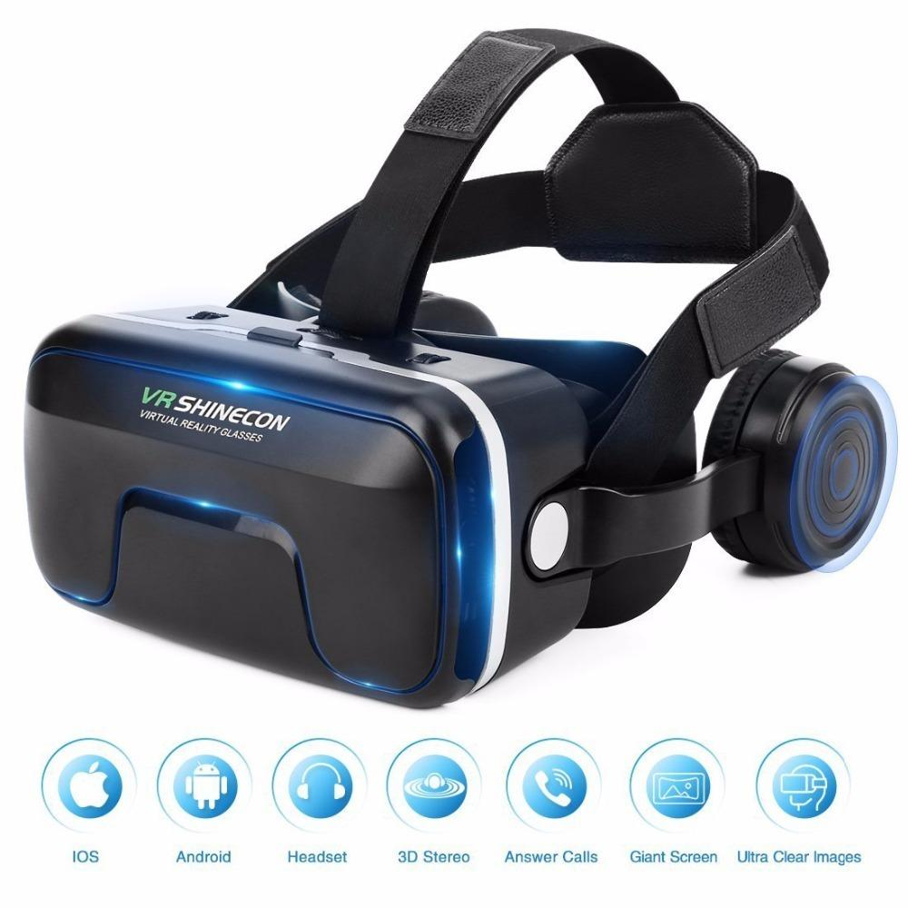New Vr Shinecon 6 0 Headset Upgrade Version Virtual Reality Glasses 3d Vr Glasses Headset Helmets Game Box Game Box J190506 Smart Glass Doors Smart Glass Singapore From Tubi08 47 55 Dhgate Com