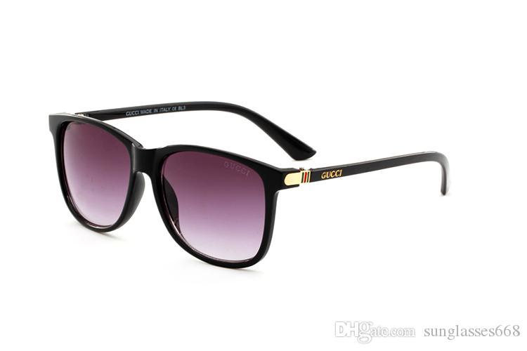 2020 Luxe Desinger Lunettes de soleil carrées avec UV400 Stamp Full Frame Lunettes de soleil pour Femmes Hommes Accessoires de mode de haute qualité G5678