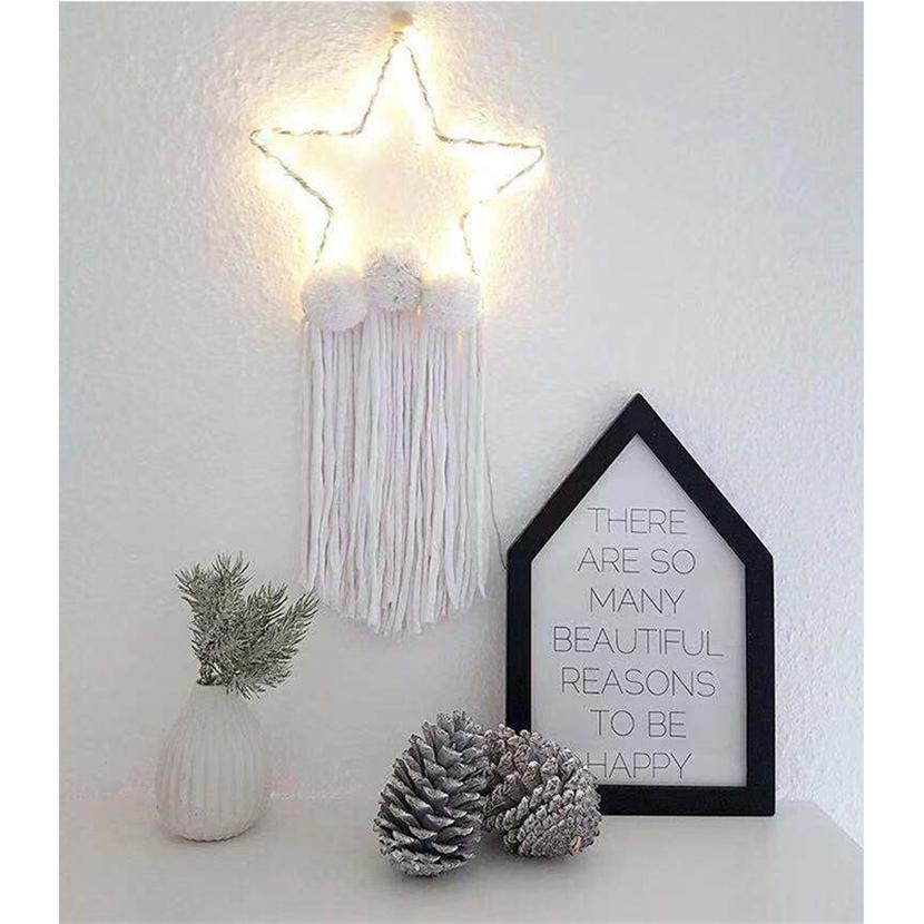 tassel wall decor.htm 2020 wholesale hot selling led stars wall plush ball toys with  wholesale hot selling led stars wall