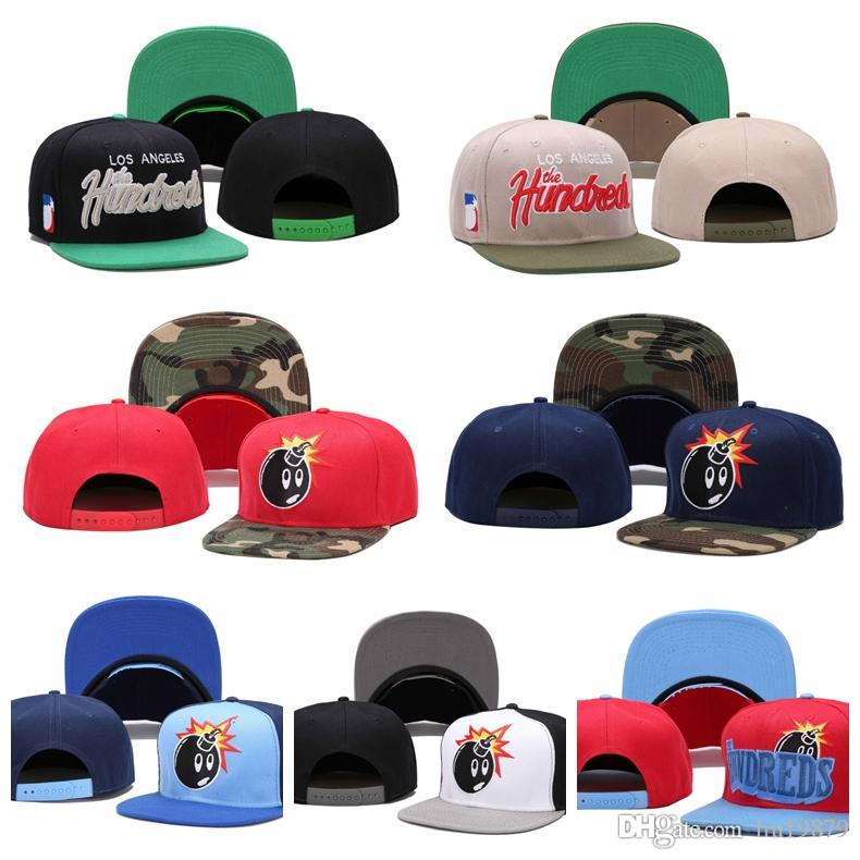2019 estate The Hundreds bomba camo berretti da baseball cappelli di snapback casquette ricamo lettera osso ragazza per le donne uomini berretto