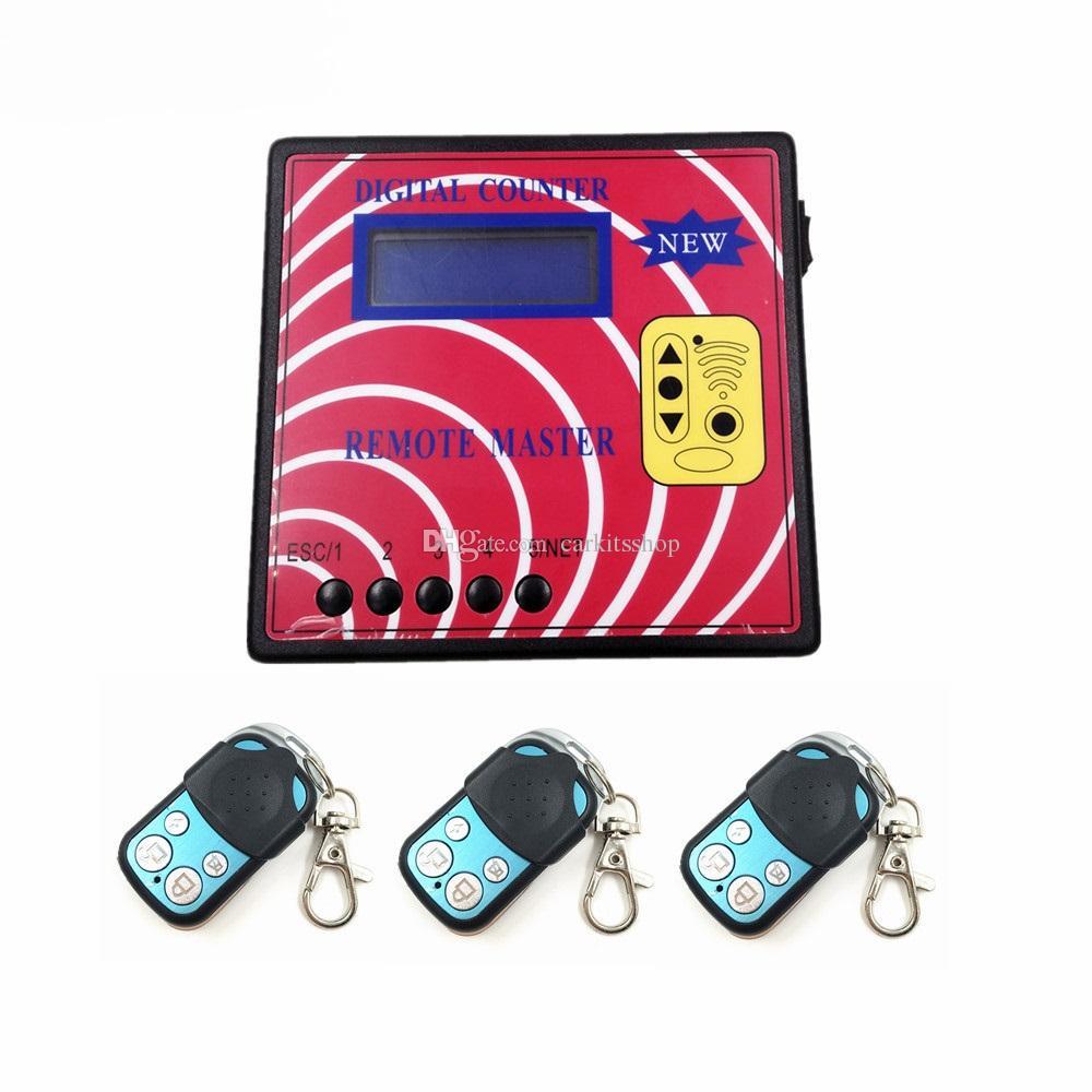 CKS Voiture Garage Porte Télécommande Copier Copier Comptoir numérique Master à distance avec 3PCS A TYPE Touches distantes de fréquence réglable