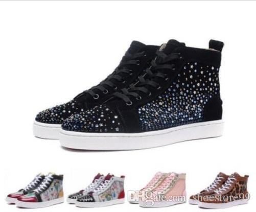 new1 hommes Latest2 star de la mode Fashion hot43 Classic Chaussures Chaussures Flyweather Designer confortable Flat Casual Rouge Sole Casual Automne Hiver