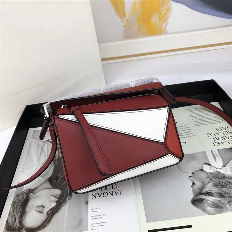 Frauen Designer Luxus diagonaler Schulterbeutel des echten Rindleder gute Qualität Handtasche Damen Geldbeutel Tote Handtaschen