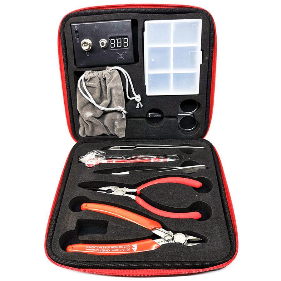 Newest RDA DIY Coil Master Kit V1 V2 DIY Tool Kit RDTA Atomizer Rebuild Vape Mod kits E-cig DIY Kit