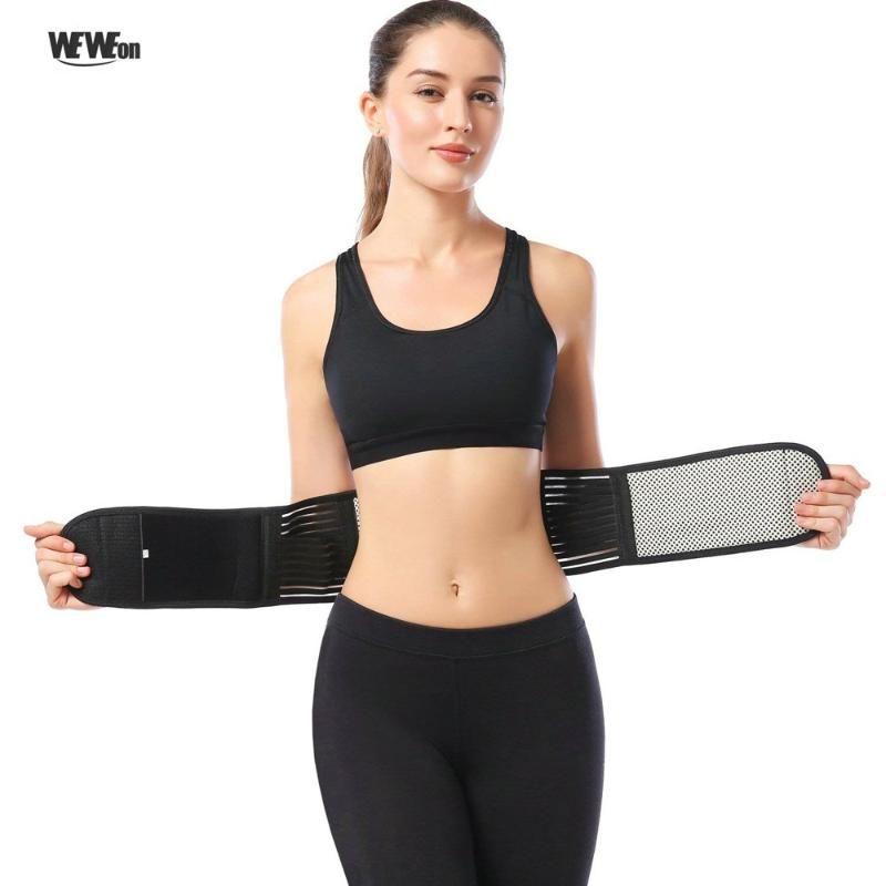 Adjustable Waist Belt Tourmaline Self Heating Magnetic Therapy Back Waist Support Belt Lumbar Brace Warm Band Health Care