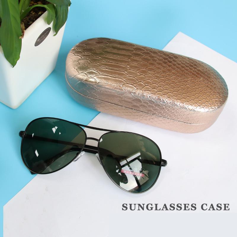 Автомобиль солнцезащитные очки коробка солнцезащитные очки коробка кожаный близорукие очки подарок автомобиль Р-5929