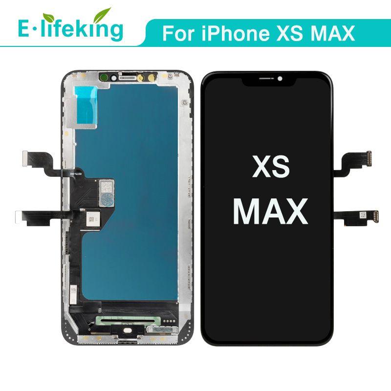 iPhone XS MAX Dokunmatik Ekran Sayısallaştırıcı Meclisi Yedek İçin LCD Ekran% 100 iPhone XS MAX Yüksek Kalite için test edilmiştir