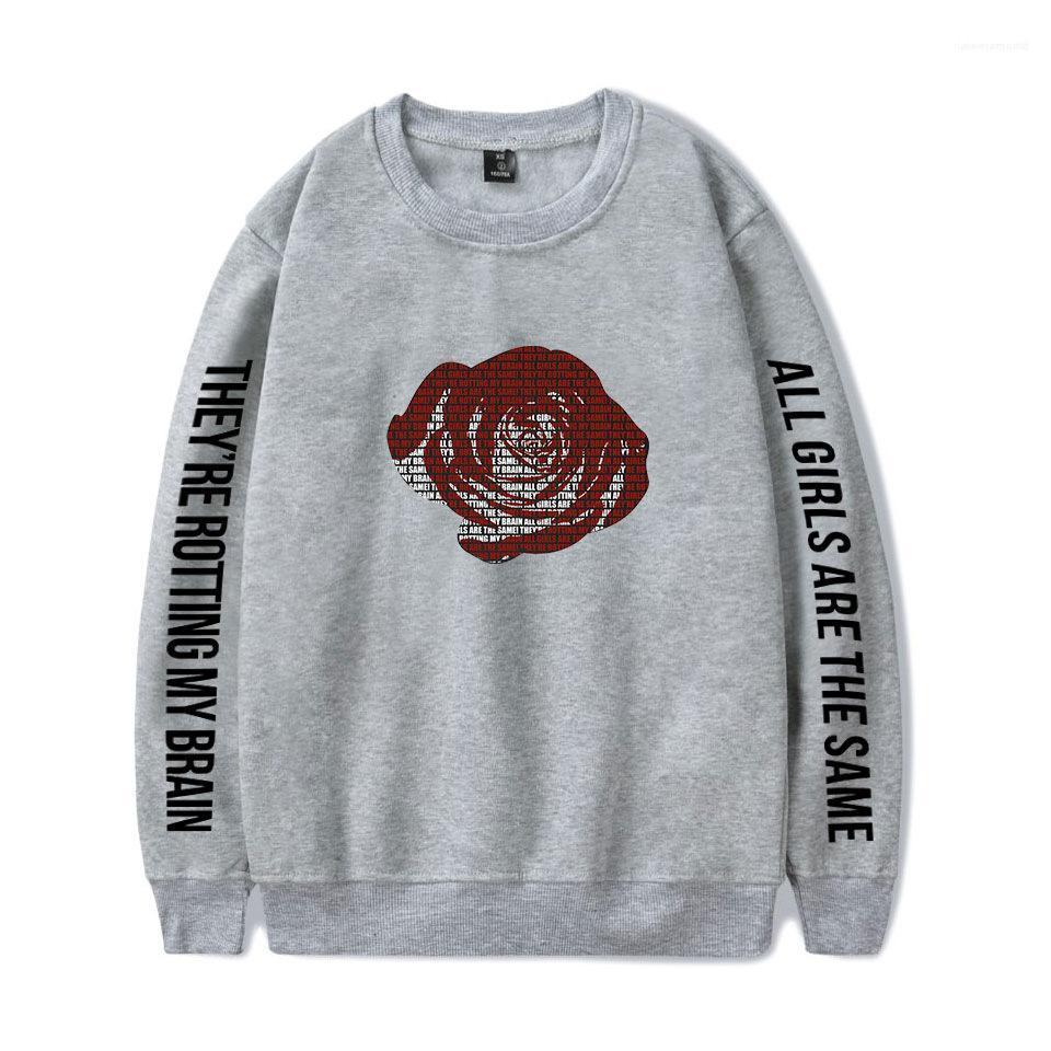 Faashi Juice Wrld Hommes Automne Designer Sweats à capuche manches longues imprimé floral Hip Hop Vêtements Homme Chanteur