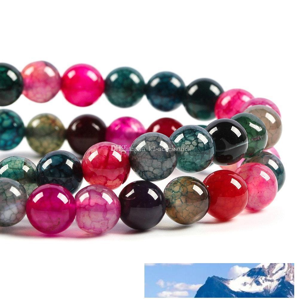 6MM 8MM 10MM круглый камень шарики для ожерелья браслета DIY изготовления ювелирных изделий свободную перевозку груза
