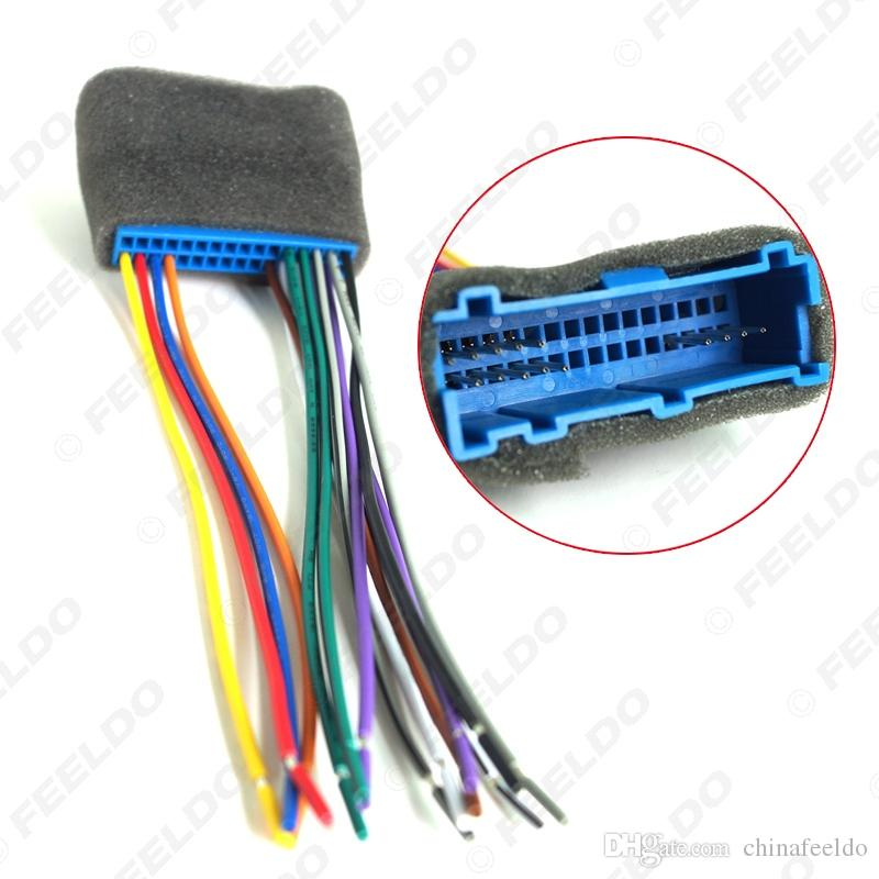 Car Radio Audio Stereo Wiring Harness Adapter Plug For Buick/Cadillac/Pontiac/Oldsmobile Aftermarket CD/DVD Stereo SKU#:3032