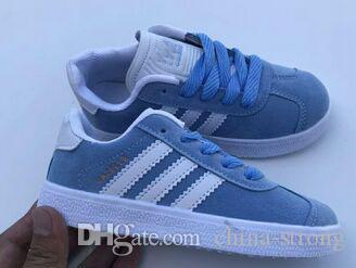Moda çocuklar bebek ebeveyn çocuk çocuklar için erkek kız ayakkabı ceylanlar samba eğitmenleri sneaker açık Tasarımcılar çocuk ayakkabıları, 25-36
