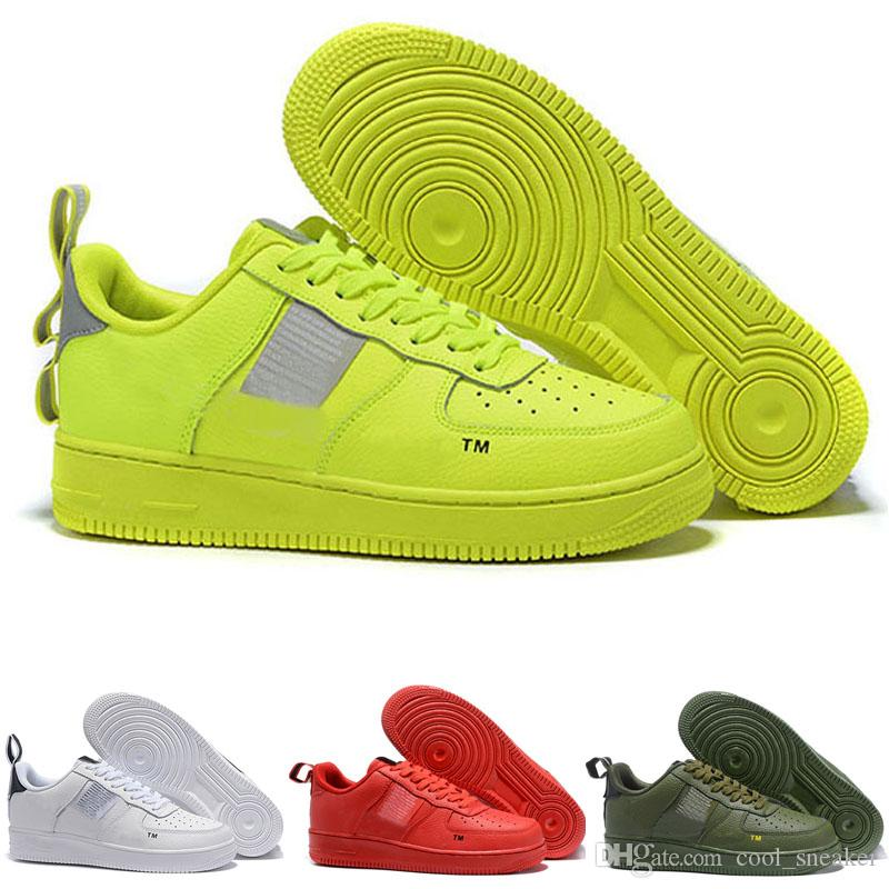 Compre Nike Air Force 1 Af1 One 2019 Nueva Moda 1 07 Se Prm Lv8 Utility  Hombres Mujeres Corte Bajo Skateboarding Calzado Deportivo Air Skate  Sneaker ...