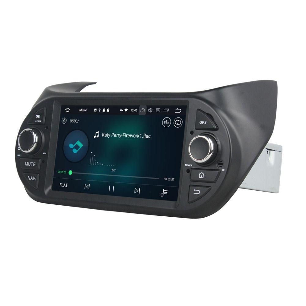 """4GB RAM Octa Core 7 """"Fiat Fiorino / Citroen Nemo / Peugeot Bipper 라디오 GPS 4G WIFI 블루투스 미러 링크 용 Android 8.0 차량용 DVD 플레이어"""