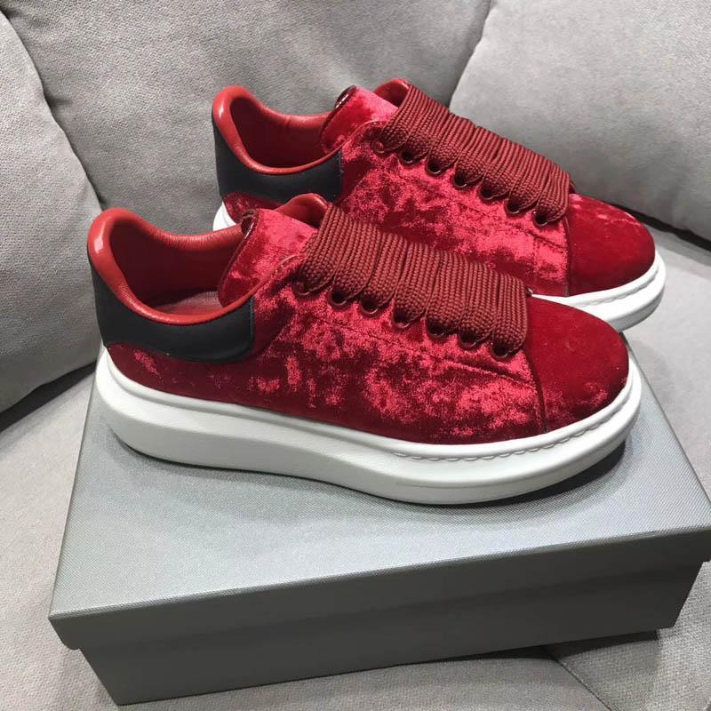 2019 New Designer Comfort Jolies Chaussures de sport fille femmes Chaussures en cuir précarisés Femmes Chaussures de sport de stabilité extrêmement durable