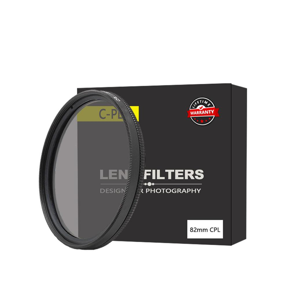 Kutupro polarized lens CPL polarized lens camera filter 40.5 46 49 52 58 62 67 72 77 82mm free shipping 14