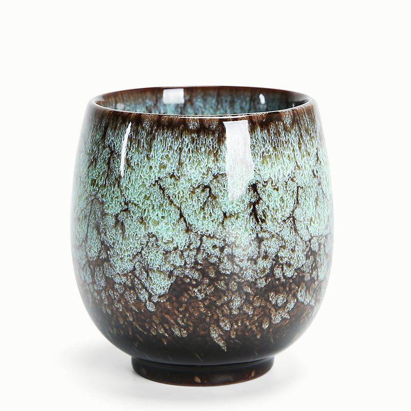 Tasse en céramique thé chinois Kung Fu tasse de thé en porcelaine à thé chaud Coupe main cadeau 1 Paquet WJ10219