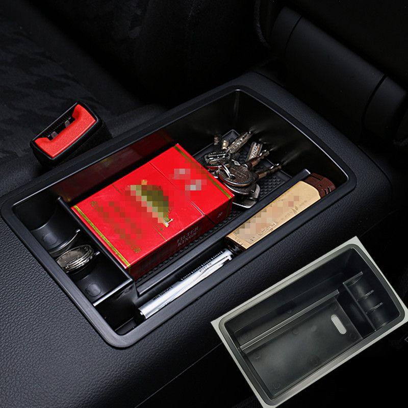 Audi A3 8V 2013-2019에 대 한 자동차 센터 팔걸이 스토리지 박스 프레임 커버 도어 팔걸이 상자 인테리어 몰딩