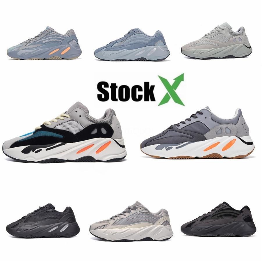 Novas 700 Shoes V2 Nuvem Branca Citrin Kanye West Magnet Reflective Yeezreel, Yecheil V2 Lundmark Synth utilitário preto Vanta Tephraclay Bre # DSK345
