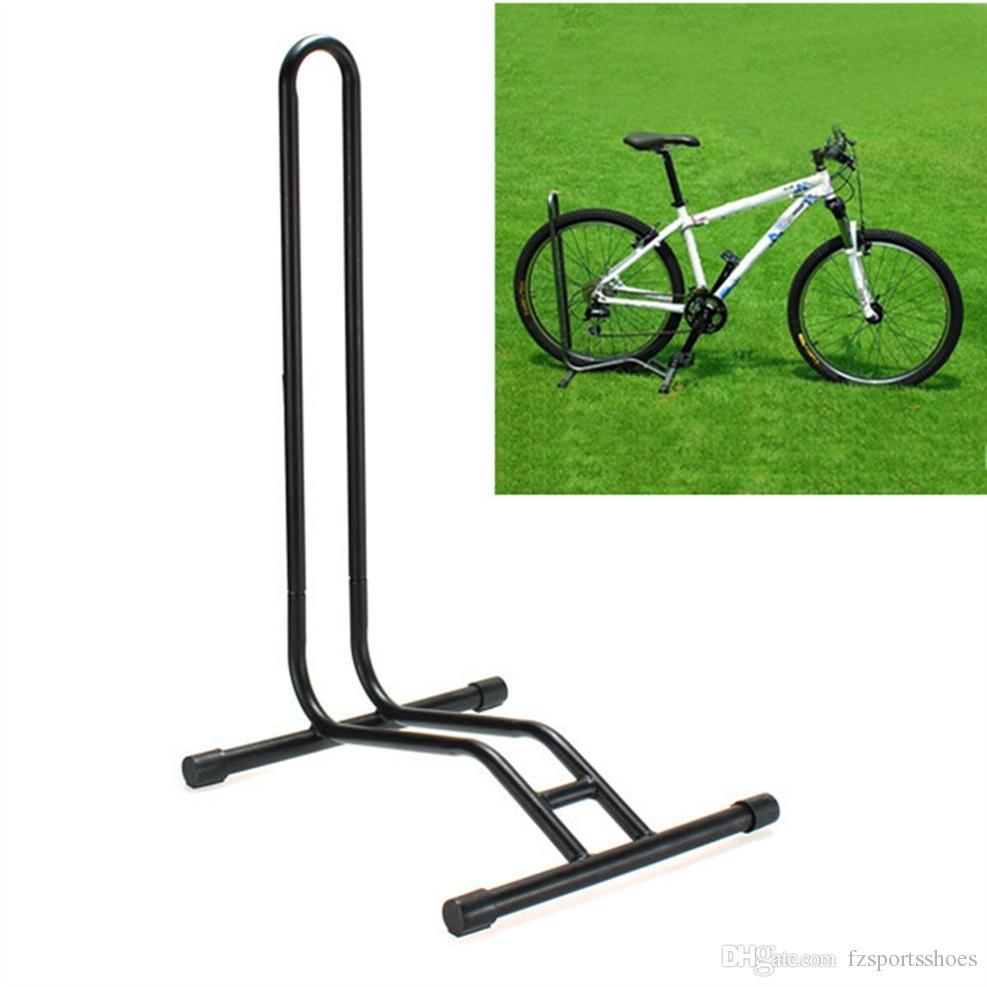 Bicycle Floor Stand Bike Display Rack Storage Holder Repair Power Coated Steel