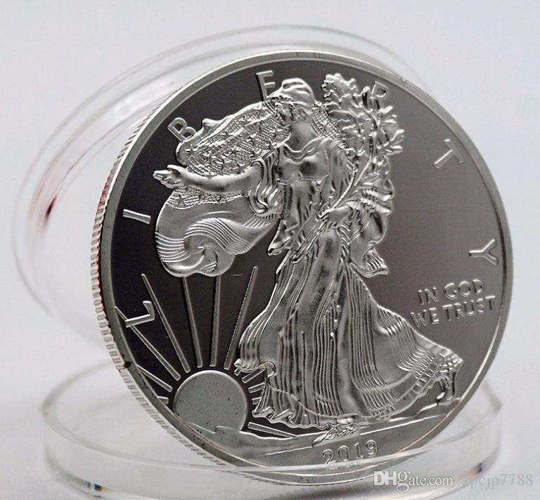 Américaine Statue de la Liberté Head Memorial Coin, Mémorial de la paix Coin, commémoratif Antique