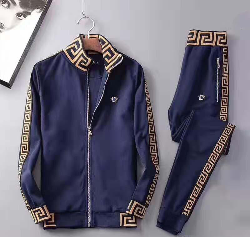 sportswear moda Medusa Europeu e terno sportswear designer americano de venda dos homens quente ao ar livre sportswear roupas em execução