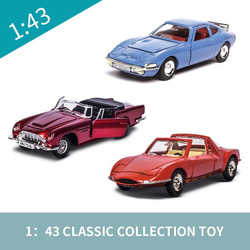 Fonde sotto pressione Car Dinky Toys 1403 Gifts Mezzi 01:43 Lega plastica Modle Giocattoli automobile calda a bambini veloce Furious Model Car Wheels J190525