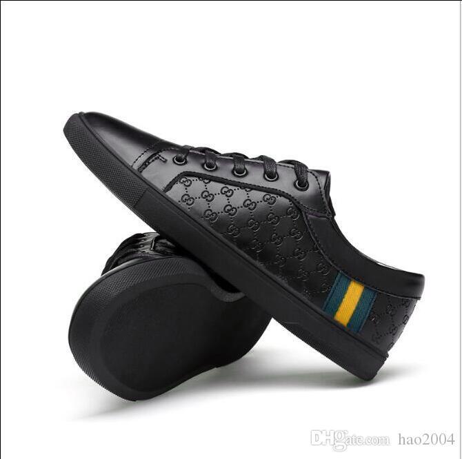 Genuine leather Italian brand appearance casual shoes,high-grade cowhid flat shoe mens casual shoes,skateboard shoes ultrafine leather G0.21