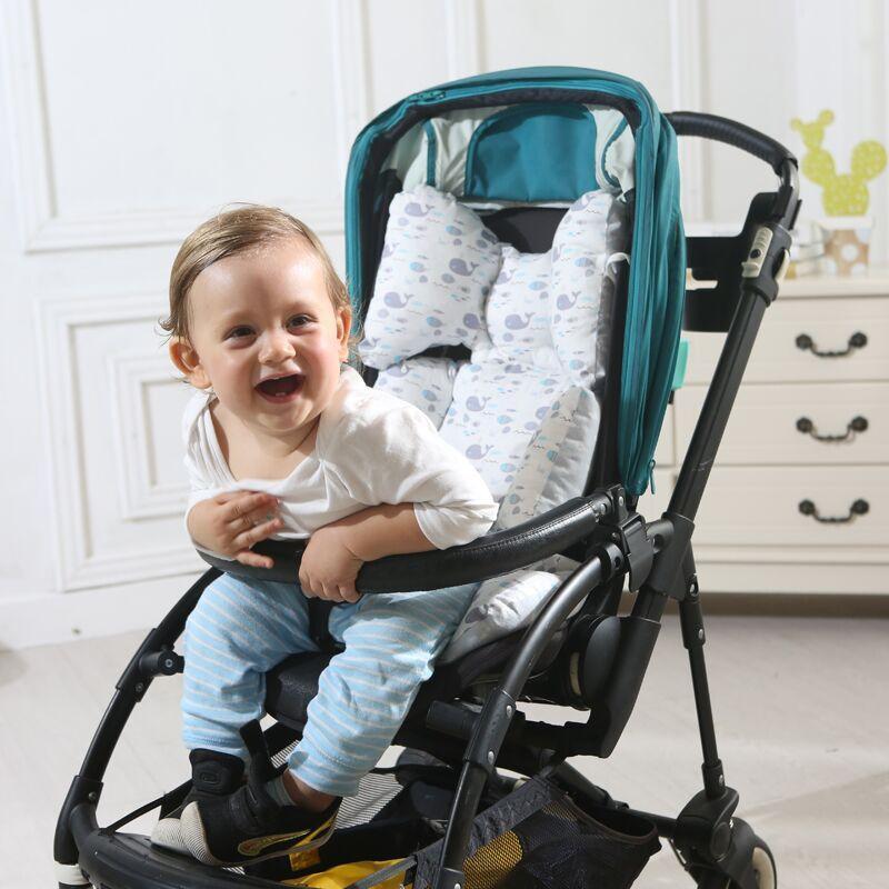 عربة طفل مقعد وسادة مقعد السيارة وسادة وسادة القطن الرضع نقل العربة ثخن لينة وسادة وسادة كرسي عربة