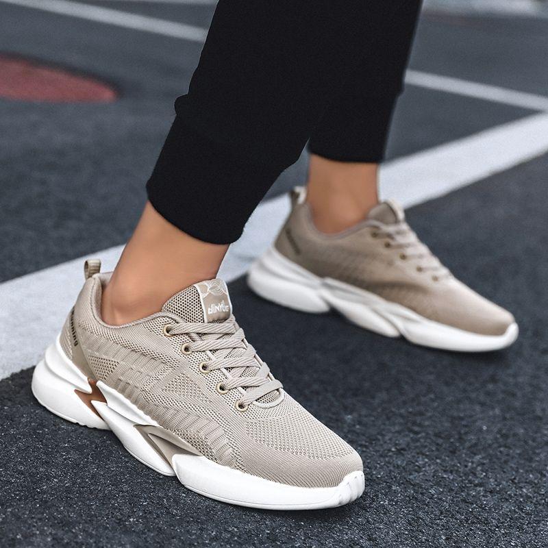zapatos de verano en las cimas de los formadores de tejer hombres modernos Zapatos zapatilla de deporte de la moda informales cómoda sneackers Sapato transpirable de