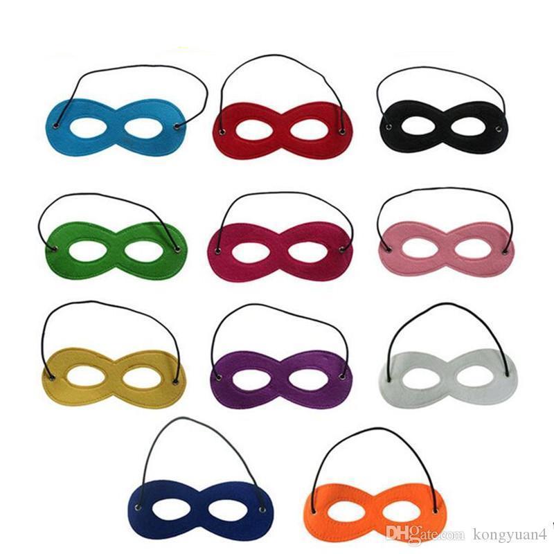 I bambini di Halloween Cosplay della mascherina del partito travestimento decorazione del feltro Mask Maschera Superhero Capo prestazioni