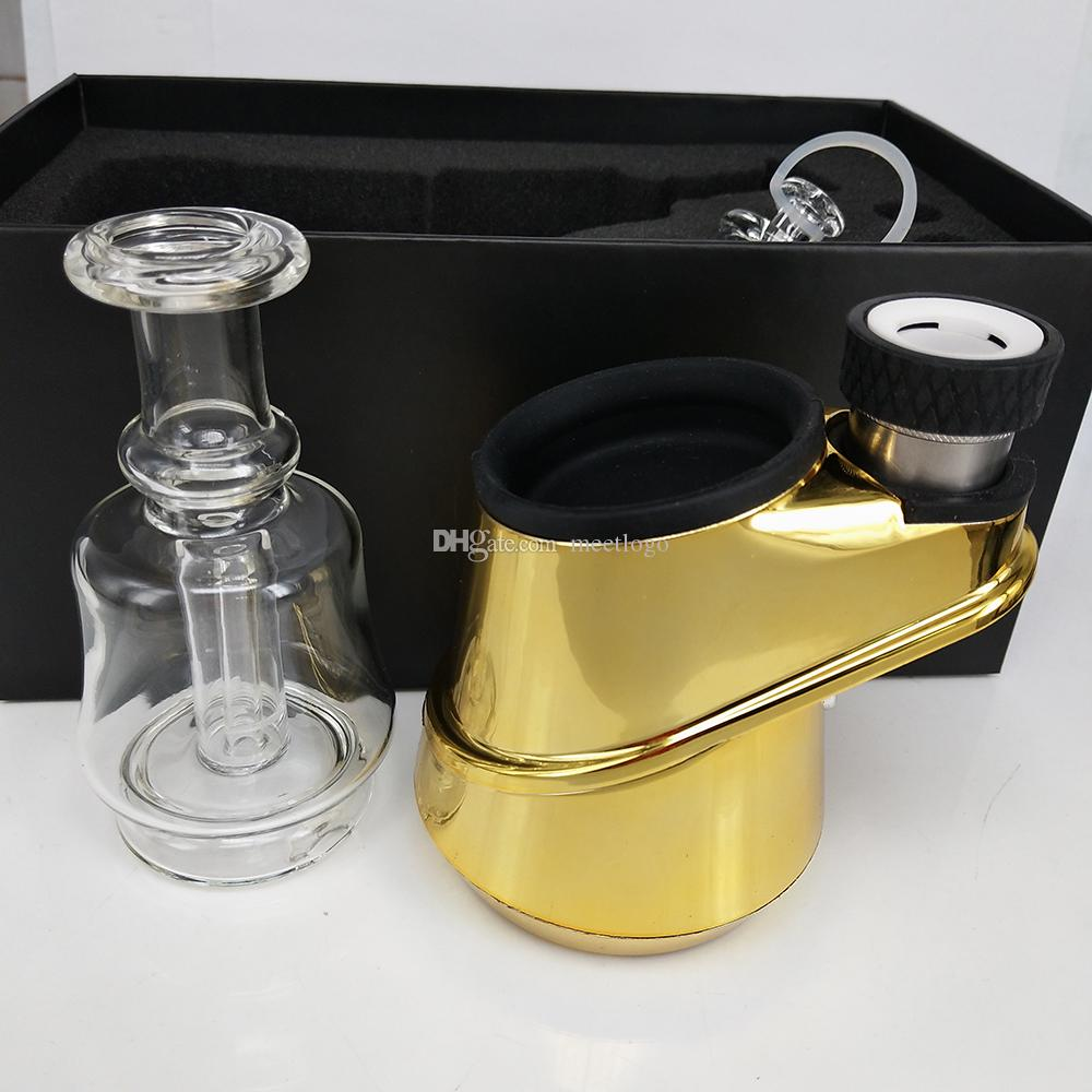 SOC P Enail Ecig Starter Kit Glass Bubbler tubo de montaje de reemplazo Rig Glass Dab reemplazo Bong Glass Hookahs