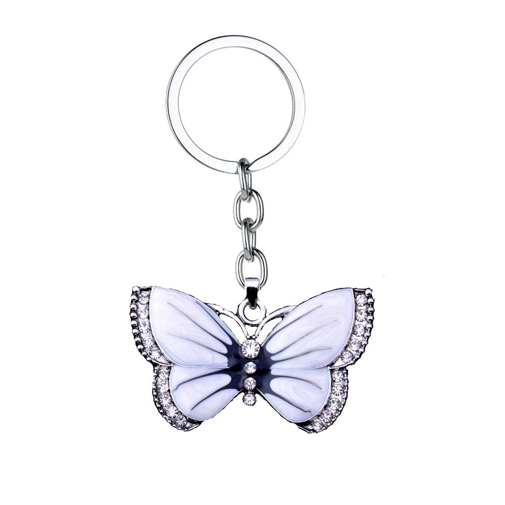 Elegant charming Butterfly pendant keyring keychain gift